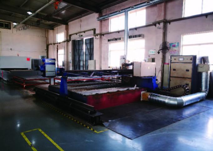 Level Type Fume Extraction Unit , PLC Control Smoke Fume Extractor