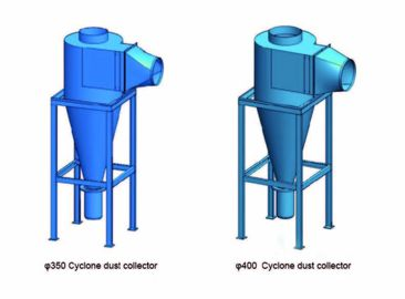 China Reliable Cooling Cyclone Separator , Industrial Cyclone Separator Unit supplier