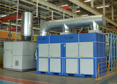 China Durable 32 Filters Dust Control Systems , Central Grinding Dust Extraction Units supplier