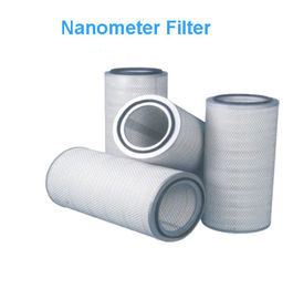 China Nanometer Filer Medium Dust Filter Cartridge , 0.5μM Precision Nano Filter Cartridge supplier