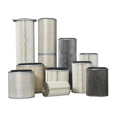 China Professional Replacement Filter Elements Fire Resistanct Wood Pulp Fiber Medium supplier