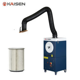China 1.5kW Power Portable Smoke Extractor Welding Extraction System Manual Cleaning supplier