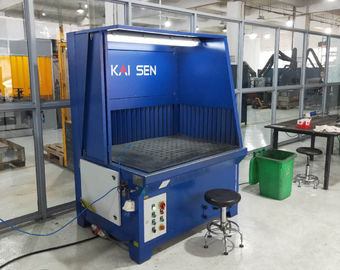 China Industrial Downdraft Table With Semi-Self-Cleaning Polishing And Grinding Dust Extraction supplier