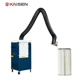 China Bench Top Mobile Fume Extractor KZS-1.5S For Welding / Laser Dust Collecting supplier
