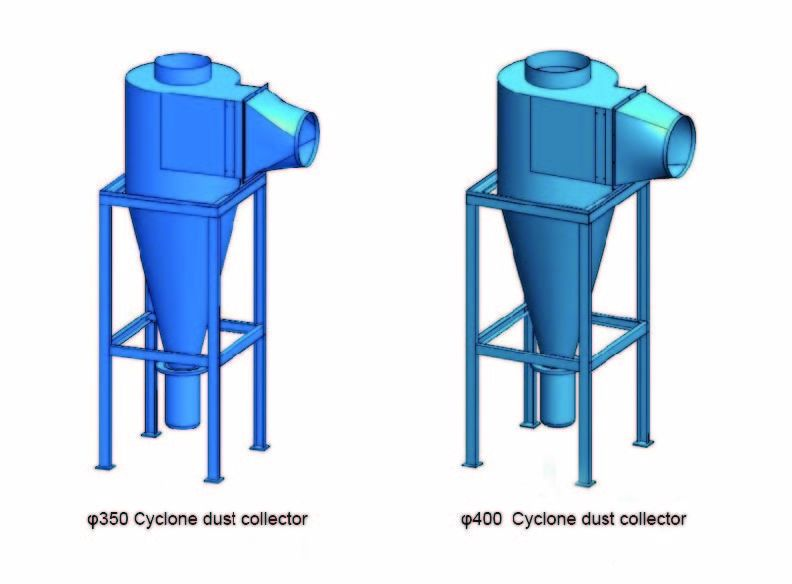Reliable Cooling Cyclone Separator Industrial Cyclone