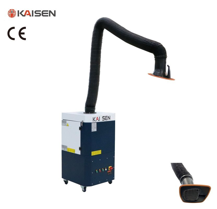10㎡ Filtering Area Industrial Fume Extractor 1.5kW Power Semi Automatic Cleaning