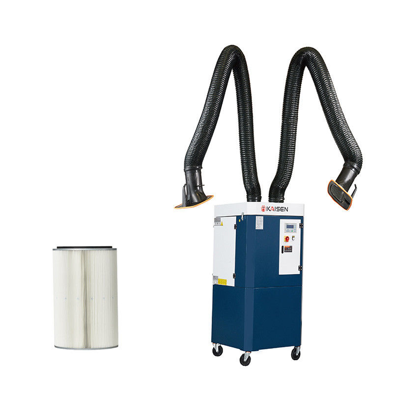 Large Power Auto Cleaning Welding Fume Filter System Double Welding Booths