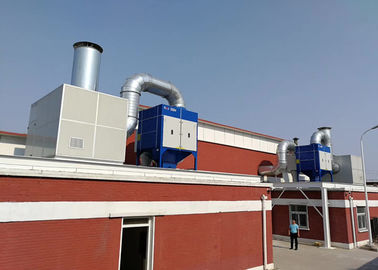 China Integrated Fume Extraction System Automobile Welding Station Automatically Cleaning distributor