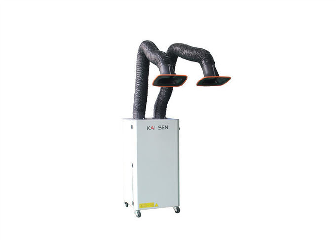 Smoke Extraction Industrial Fume Extractor Two Exhuast Arm 2m 3m 4m Available
